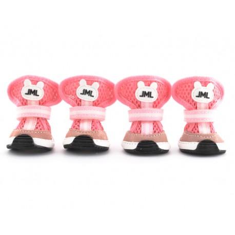 "Легкие ботиночки ""Totoshka"", розовые, JML"