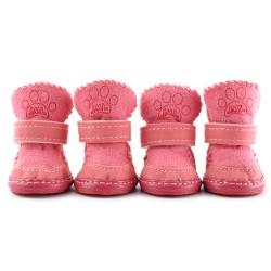"""Сапожки """"Угги"""", розовые, JML"""