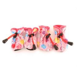 "Ботинки на мягкой подошве ""Teddy"", розовые"