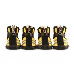 "Ботинки ""Страйк"", водонепроницаемые, желтые"