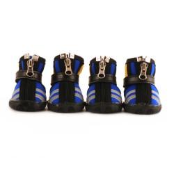 """Ботинки """"Страйк"""", водонепроницаемые, синие"""