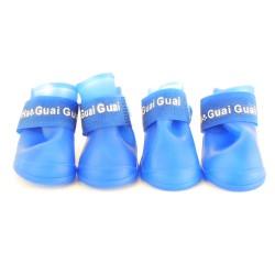 "Резиновые сапоги ""Капелька"", синие"