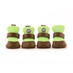 """Ботинки """"Полли"""", зеленые"""