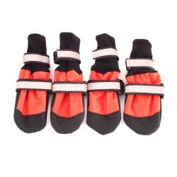 """Ботинки на мягкой подошве """"Форест"""", красные"""