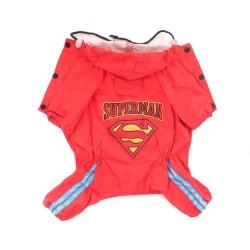 """Дождевик """"Superman"""", красный"""