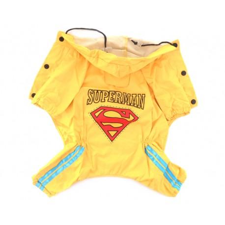"""Дождевик """"Superman"""", желтый"""