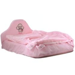 "Мягкая кроватка ""Стеша"", розовая"