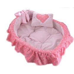 """Лежак-кроватка """"Бель"""", розовая"""