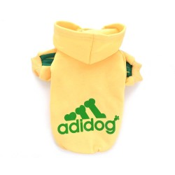 """Кофта """"Adidog"""", желтая"""