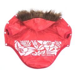 "Куртка ""Цветок гибискуса"", красная"
