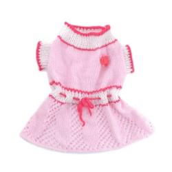 "Платье ""Муза"", розовое, РУЧНАЯ работа"