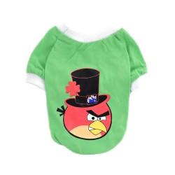 """Футболка """"Angry Birds"""", салатовая"""