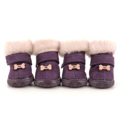 """Ботиночки """"Косточка"""", пурпурные"""