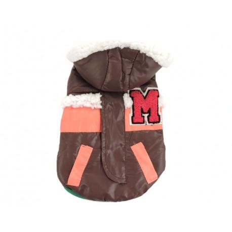 """Жилетка """"М"""", коричневая, размер 7-8"""