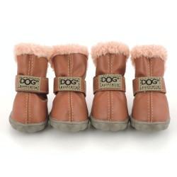 """Ботиночки """"DOG"""", светло-коричневые"""