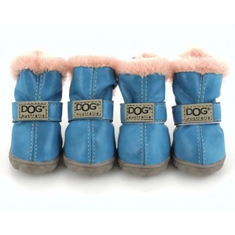 """Ботиночки """"DOG"""", голубые"""
