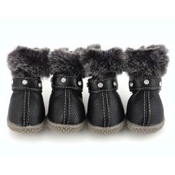 """Ботиночки """"Бусинка"""", черные"""