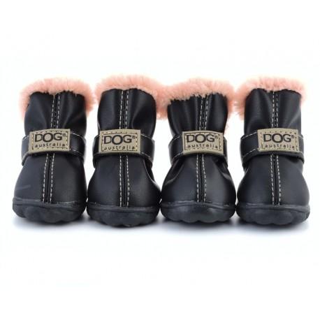 """Ботиночки """"DOG"""", черные"""