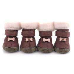 """Ботиночки """"Косточка"""", коричневые"""
