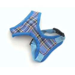 """Шлейка """"Шотландия"""", голубая"""