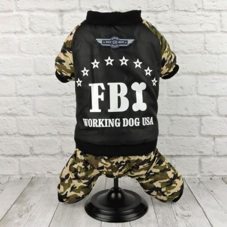 """Комбинезон """"FBI"""", хакки"""