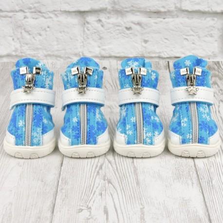 "Ботиночки ""Морис"", голубые"