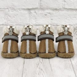 "Ботиночки ""Тибо"", коричневые, JML"