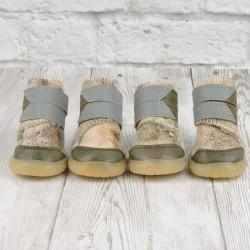 "Ботиночки ""Фира"", бежевые, JML"