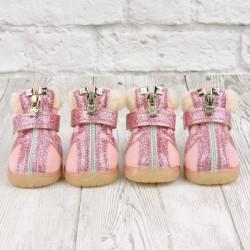 """Ботиночки """"Раффи"""", розовые, JML"""