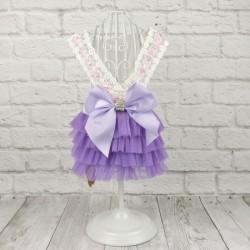 """Платье """"Эмили"""", пурпурное"""