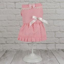 """Платье """"Горох"""", розовое"""