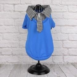 "Рубашка ""Рей"", синяя"