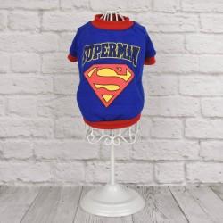 """Футболка """"Superman"""", синяя"""