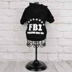 """Толстовка """"FBI"""", черная"""