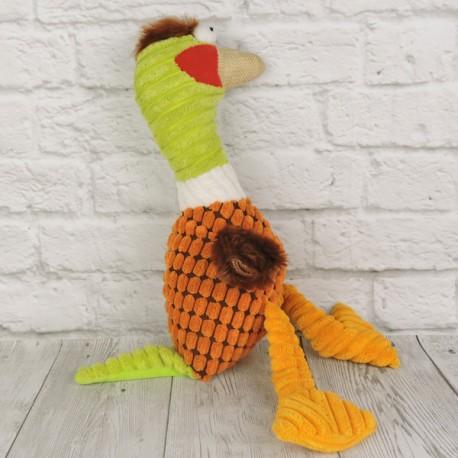 """Игрушка """"Веселая утка"""", оранжевая"""
